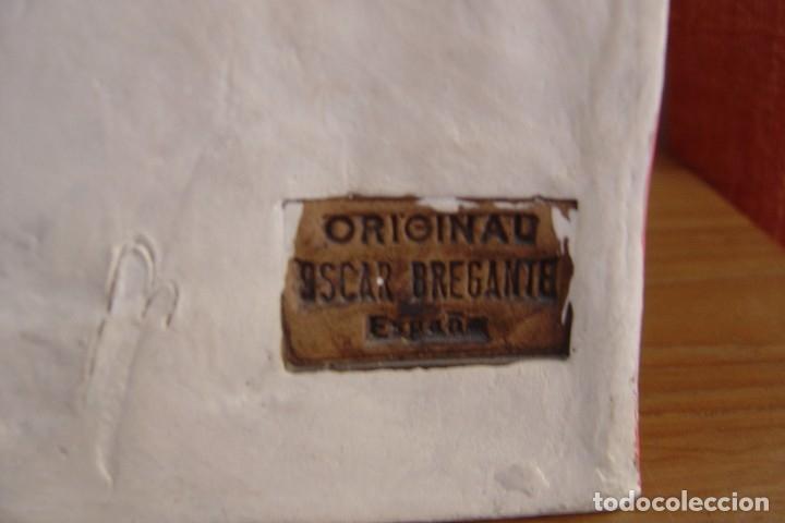 Arte: OBRA EN TERRACOTA CERAMISTA OSCAR BREGANTE. MONUMENTOS EMBLEMÁTICOS. FIRMADA. - Foto 5 - 173677469