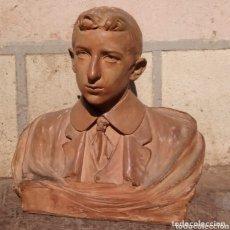 Arte: UNICO,GRAN BUSTO FIRMADO POR B. FOLIA 1913 CENIA,NO SE ENVIA. Lote 173805559