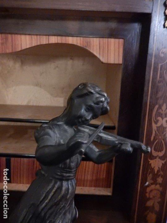 Arte: Escultura modernista en bronce y ónix - Foto 4 - 174100932