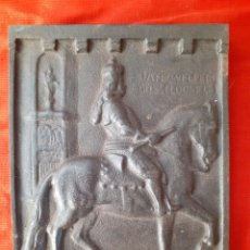 Arte: PLACA RELIEVE METALICA. Lote 174189234
