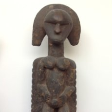 Arte: ESCULTURA RITUAL AFRICANA EN MADERA.. Lote 174861362