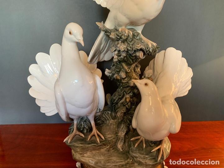 Arte: Conjunto de palomas de porcelana de LLadró - Foto 8 - 175193065