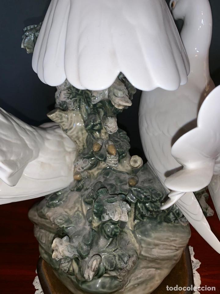 Arte: Conjunto de palomas de porcelana de LLadró - Foto 10 - 175193065