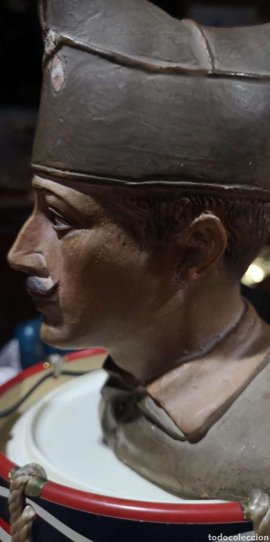 Arte: Busto en terracota de Millán Astray, años 20, pequeños desperfectos - Foto 2 - 175220984