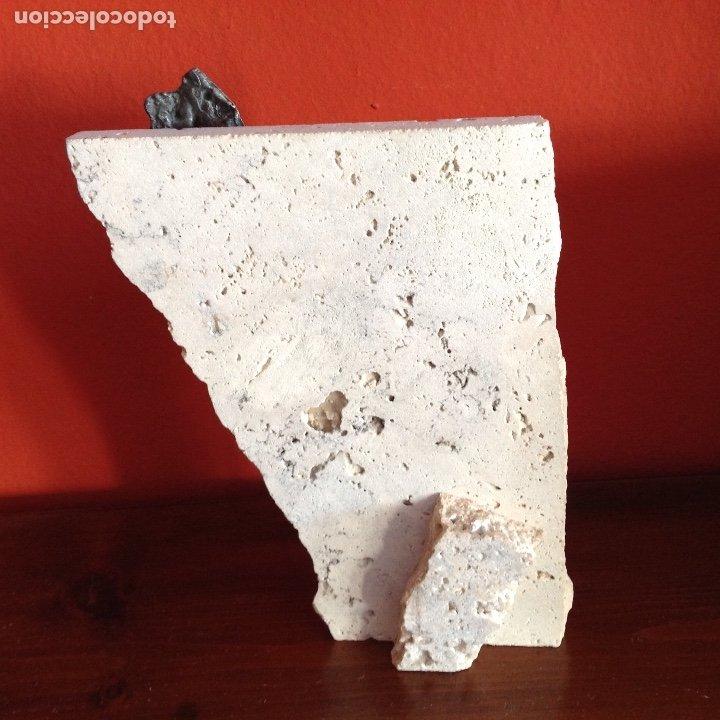 Arte: Escultura piedra y bronce.Firmada. - Foto 5 - 175323447