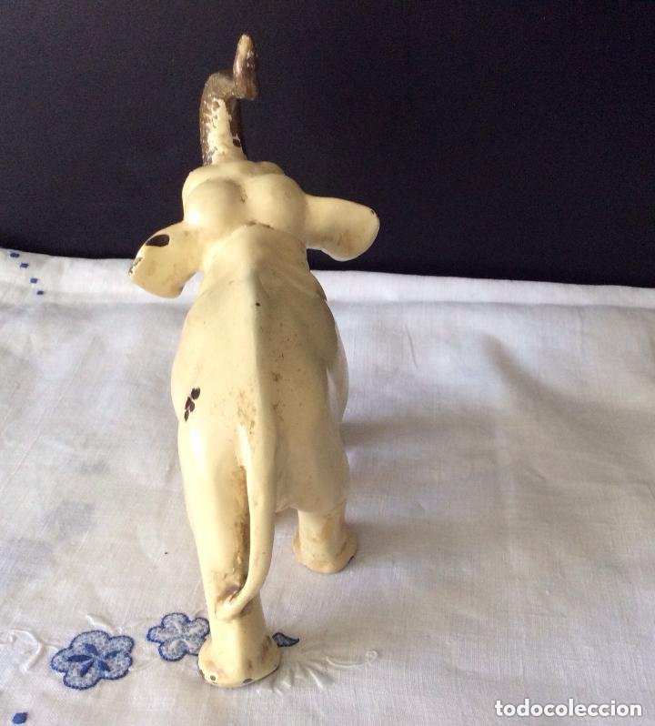 Arte: ELEFANTE,Antigua Escultura en bronce representando elefante - Foto 2 - 175596364