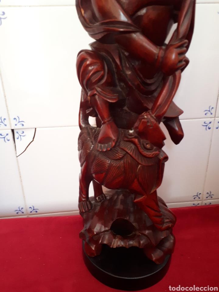 Arte: Escultura de madera tallada - Foto 3 - 175829387