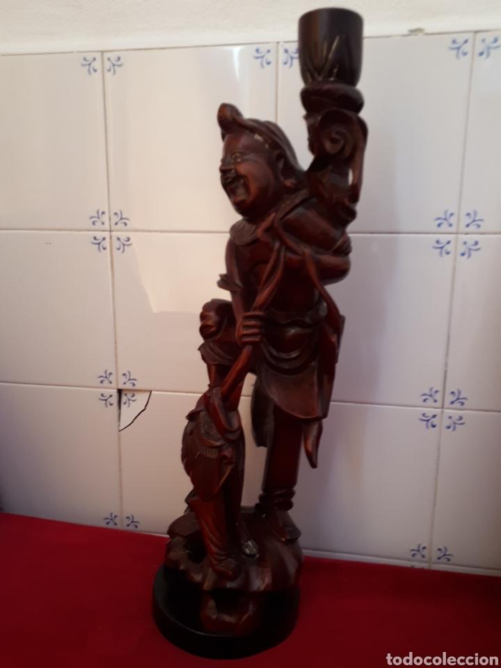 Arte: Escultura de madera tallada - Foto 4 - 175829387