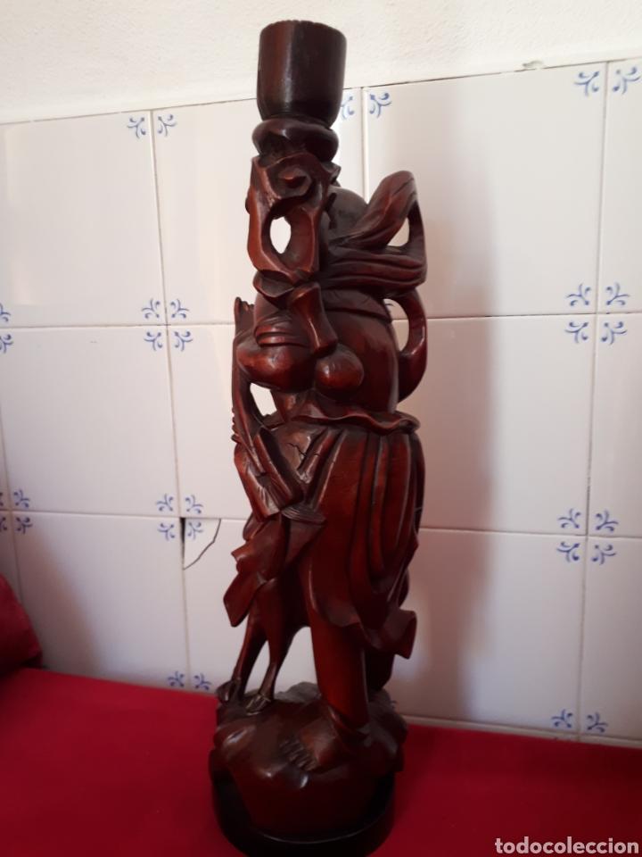 Arte: Escultura de madera tallada - Foto 5 - 175829387