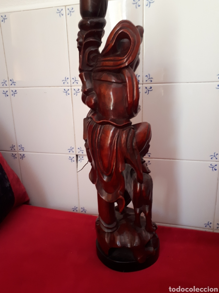 Arte: Escultura de madera tallada - Foto 6 - 175829387