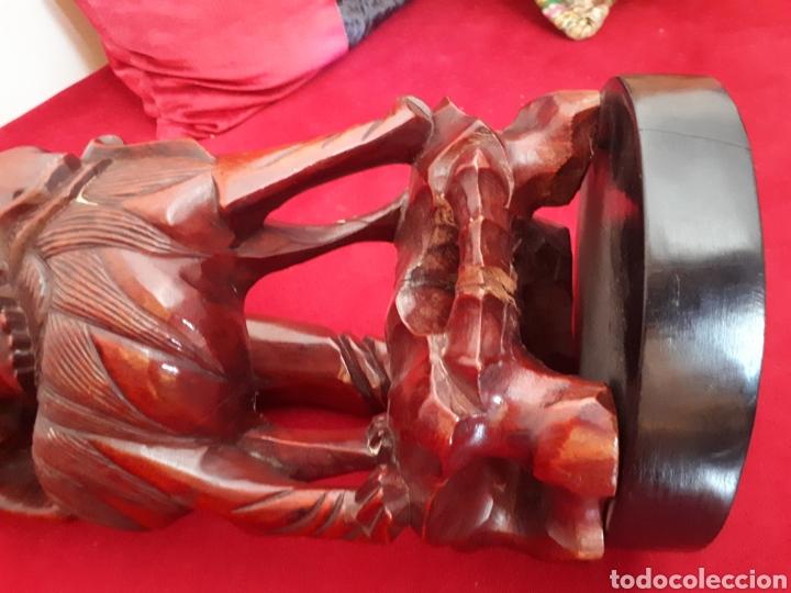 Arte: Escultura de madera tallada - Foto 10 - 175829387