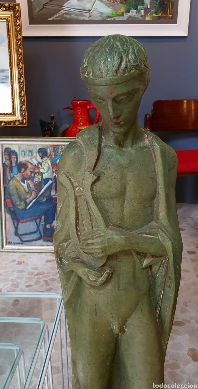Arte: Preciosa escultura vintage, en resina - Foto 2 - 175850410