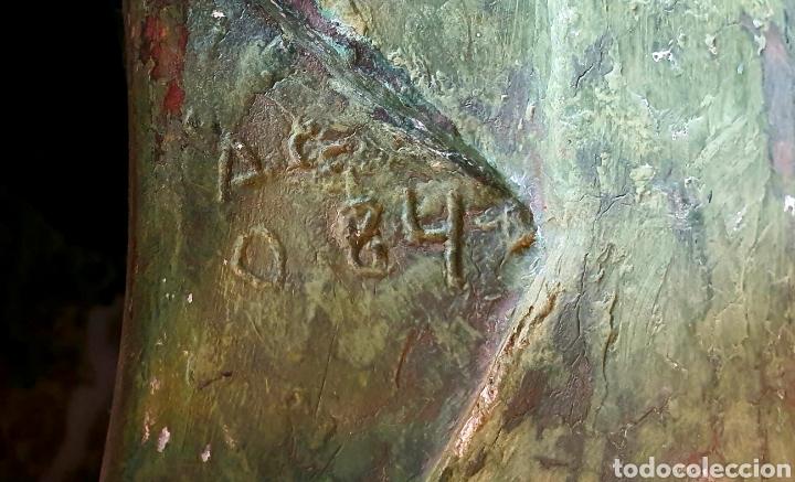 Arte: Preciosa escultura vintage, mujer en Resina. - Foto 4 - 175850338