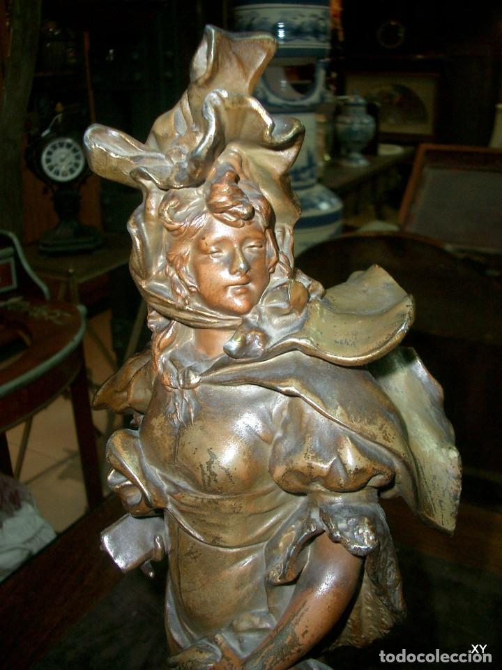 Arte: Pareja de figuras al gusto frances, A. nelson - Foto 6 - 176550889
