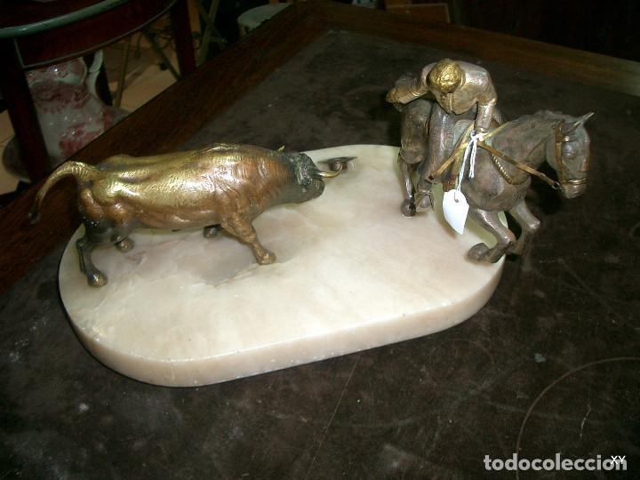 Arte: Escultura en bronce sobre marmol - Foto 2 - 176733678