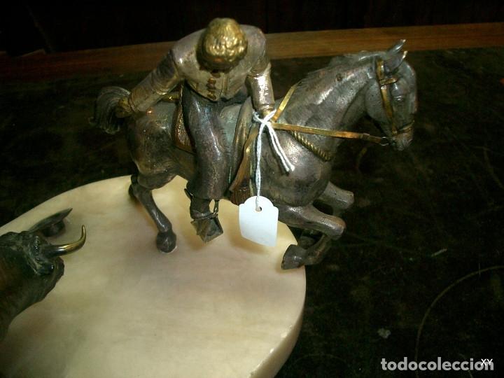 Arte: Escultura en bronce sobre marmol - Foto 3 - 176733678