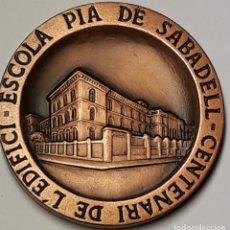 Arte: CENTENARIO DE LA ESCUELA PIA DE SABADELL ( 1885 - 1985 ). Lote 176980824
