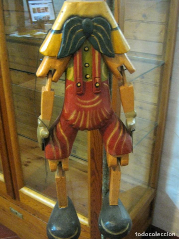 Arte: 68 cm - Gran marioneta articulada talla de madera - Pinocho - Foto 4 - 177617730