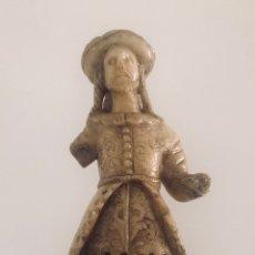 Arte: ESCULTURA EN PIEDRA DE HUAMANGA. COLONIAL, VIRREINAL O NOVOHISPANO. SANTIAGO. PERÚ S. XVII-XVIII.. Lote 177628123