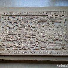 Arte: LOSA TUMBA EL ASTRONAUTA DE PALENQUE /ORIGINAL /HECHA A MANO EN PALENQUE/ MÉXICO/ EXTRATERRESTRES. Lote 177690965