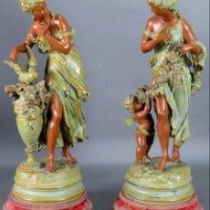 Arte: MATHURIN MOREAU (1822- 1912). Lote 178072277