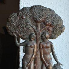 Arte: APEL-LES FENOSA ?, PRECIOSA Y MAGNIFICA ESCULTURA DE BRONCE, CON FIRMA FENOSA.. Lote 178373070
