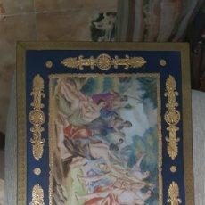 Arte: PRECIOSA CAJA JOYERO DE SEVRES, BRONCE Y PORCELANA PINTADA A MANO DEL XIX. SIN DEFECTO ALGUNO, MARAV. Lote 178612367