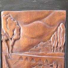 Arte: TRAPOTE MEDINA, JESÚS , ( ESCULTOR DE VALLADOLID ) CAMPESINO LABRANDO. Lote 178894160