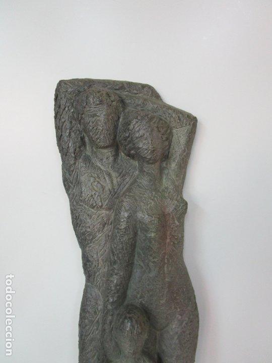 Arte: Escultura - Familia - Terracota - Firma José Martí-Sabé ( Santa Coloma de Farners , 1915 - 2006 ) - Foto 5 - 178928403