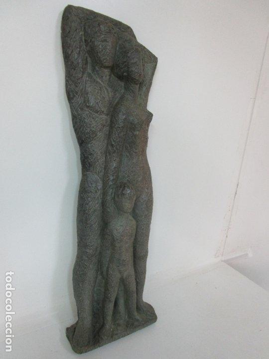 Arte: Escultura - Familia - Terracota - Firma José Martí-Sabé ( Santa Coloma de Farners , 1915 - 2006 ) - Foto 8 - 178928403