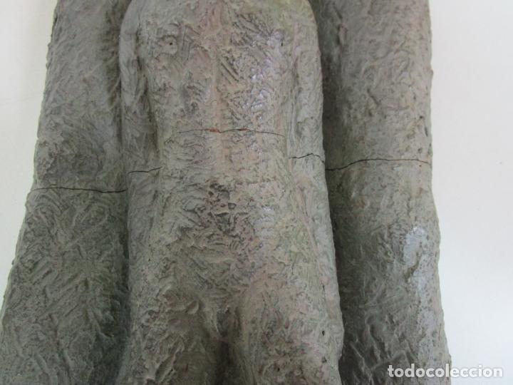 Arte: Escultura - Familia - Terracota - Firma José Martí-Sabé ( Santa Coloma de Farners , 1915 - 2006 ) - Foto 10 - 178928403