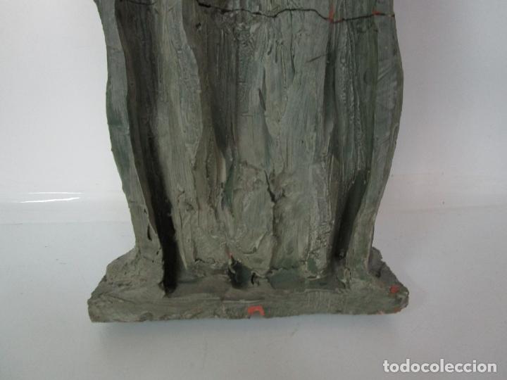 Arte: Escultura - Familia - Terracota - Firma José Martí-Sabé ( Santa Coloma de Farners , 1915 - 2006 ) - Foto 13 - 178928403