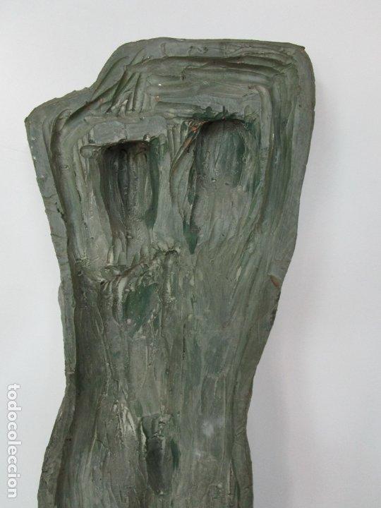 Arte: Escultura - Familia - Terracota - Firma José Martí-Sabé ( Santa Coloma de Farners , 1915 - 2006 ) - Foto 15 - 178928403