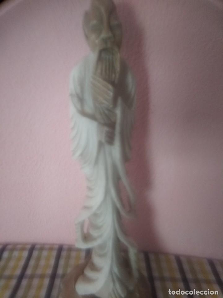 ESCULTURA ANTIGUA (Arte - Escultura - Alabastro)