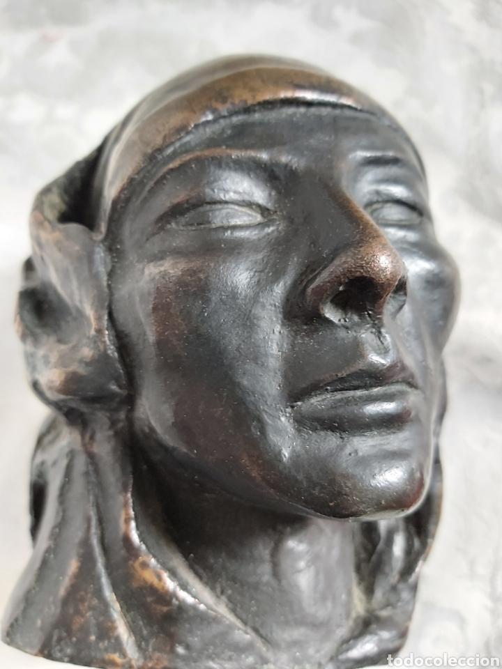 Arte: ESCULTURA DE BRONCE ATRIBUIDA A MANOLO HUGUÉ - Foto 10 - 179022236