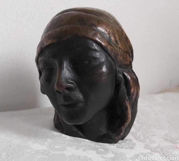 ESCULTURA DE BRONCE ATRIBUIDA A MANOLO HUGUÉ (Arte - Escultura - Bronce)