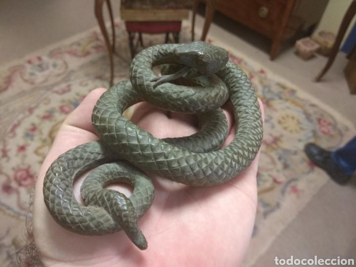 Arte: Espectacular Serpiente de Bronce - Foto 5 - 179536671