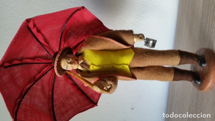 Arte: CAMPONERO COM SEU PARA AGUA HECHO EN TECIDI ES ORIGINALMAD FRANCE HECHA DE TERRACOTA - Foto 10 - 179539530