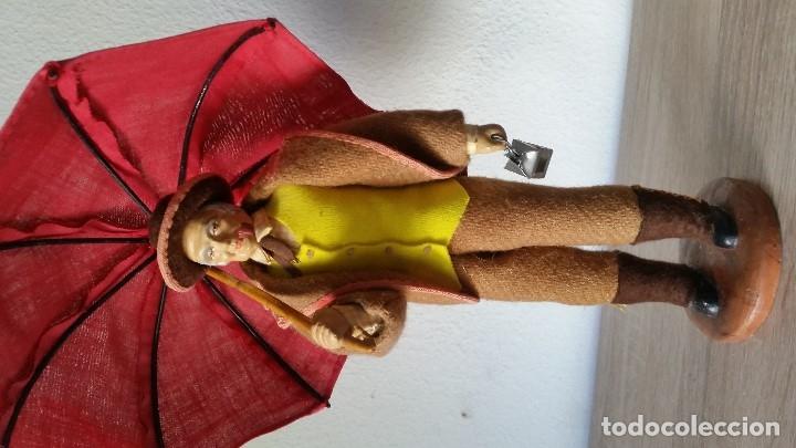 Arte: CAMPONERO COM SEU PARA AGUA HECHO EN TECIDI ES ORIGINALMAD FRANCE HECHA DE TERRACOTA - Foto 11 - 179539530