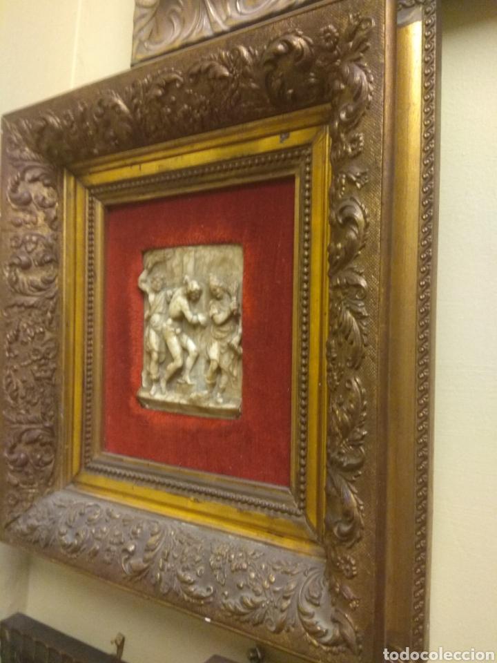 Arte: Espectacular Pareja de Relieves Religiosos de Alabastro - Siglo XVI - Vía Crucis - Malinas - Bélgica - Foto 4 - 180035123