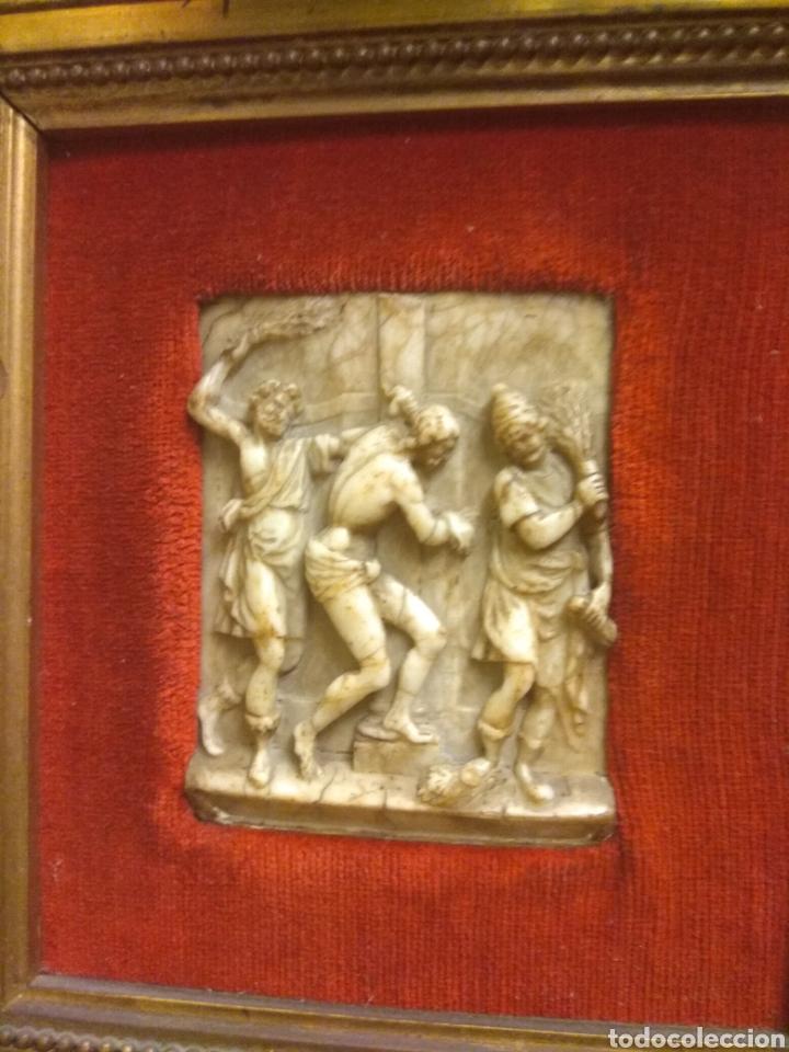 Arte: Espectacular Pareja de Relieves Religiosos de Alabastro - Siglo XVI - Vía Crucis - Malinas - Bélgica - Foto 5 - 180035123