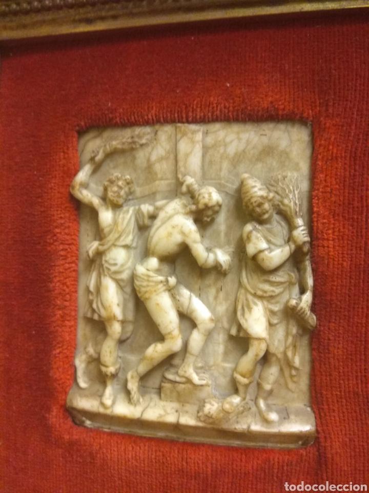 Arte: Espectacular Pareja de Relieves Religiosos de Alabastro - Siglo XVI - Vía Crucis - Malinas - Bélgica - Foto 6 - 180035123