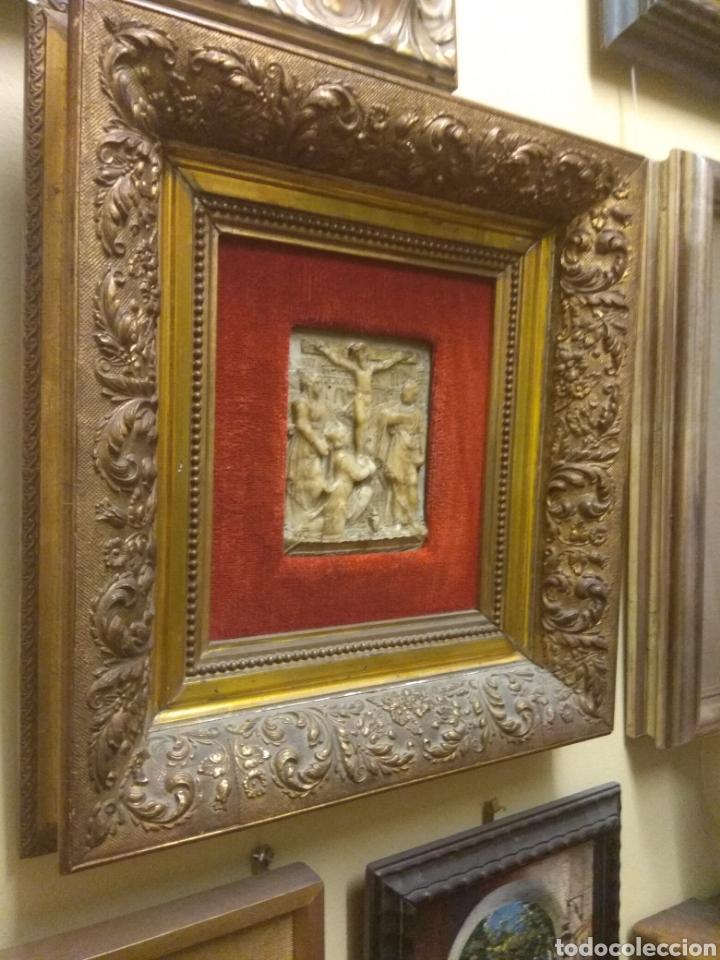 Arte: Espectacular Pareja de Relieves Religiosos de Alabastro - Siglo XVI - Vía Crucis - Malinas - Bélgica - Foto 9 - 180035123