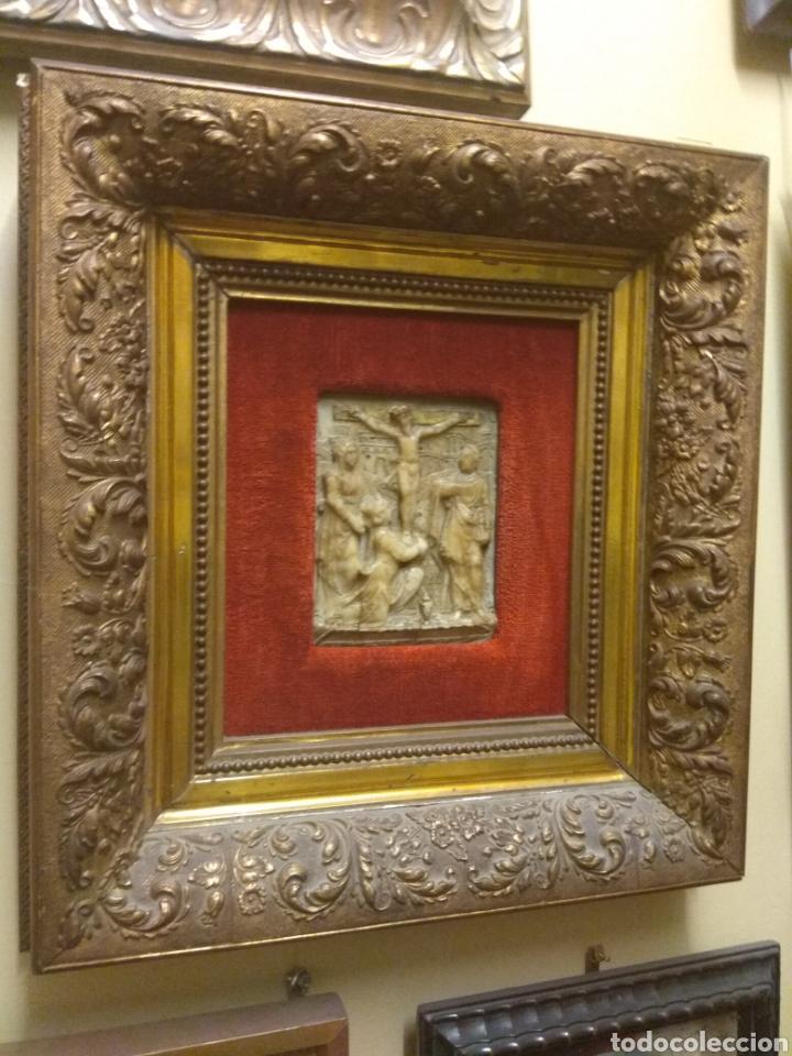 Arte: Espectacular Pareja de Relieves Religiosos de Alabastro - Siglo XVI - Vía Crucis - Malinas - Bélgica - Foto 10 - 180035123