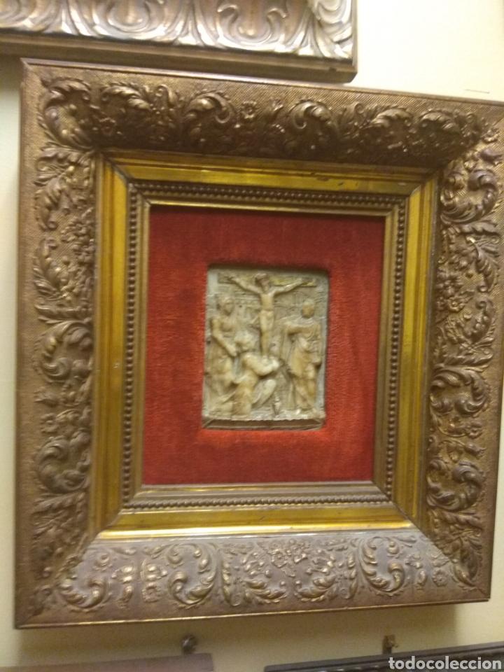 Arte: Espectacular Pareja de Relieves Religiosos de Alabastro - Siglo XVI - Vía Crucis - Malinas - Bélgica - Foto 11 - 180035123