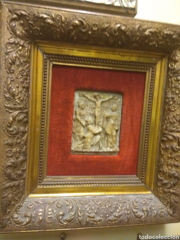 Arte: Espectacular Pareja de Relieves Religiosos de Alabastro - Siglo XVI - Vía Crucis - Malinas - Bélgica - Foto 12 - 180035123