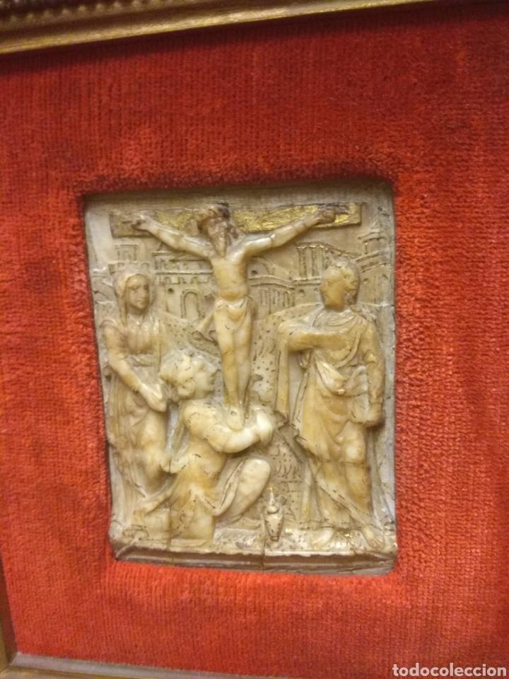 Arte: Espectacular Pareja de Relieves Religiosos de Alabastro - Siglo XVI - Vía Crucis - Malinas - Bélgica - Foto 13 - 180035123