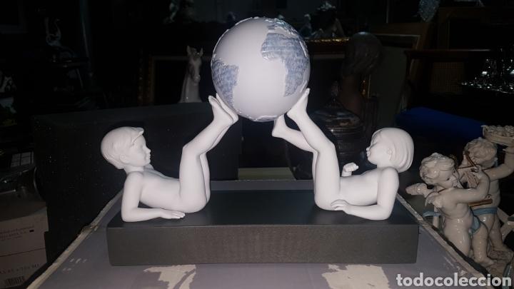 NIÑOS FRATERNITAS , DE LLADRO SKU:01018014.EN SU CAJA ORIGINAL (Arte - Escultura - Porcelana)