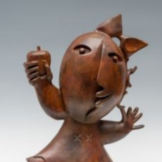 Arte: JUAN RIPOLLES,CHICA DE LA MANZANA. Lote 180468365