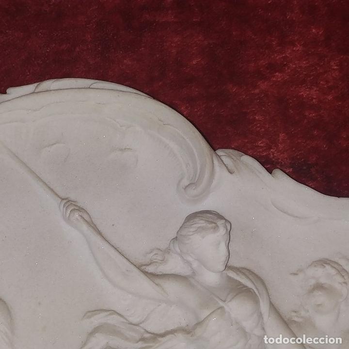 Arte: ESCENA MITOLÓGICA. RELIEVE EN MARMOLINA. ESTILO ROCOCÓ. FRANCIA (?). SIGLO XIX - Foto 3 - 181462851